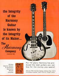 Harmony guitar ad